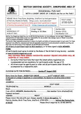 FUN DAY/DEVELOPMENT OF TECHNICAL DRIVING SKILLS @ LLOYD FARM ARENA HALES MARKET DRAYTON   Hales   England   United Kingdom